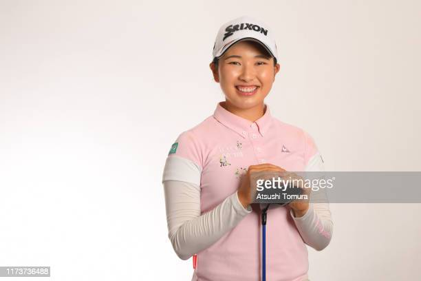 Sakura Koiwai of Japan poses during the Japanese LPGA Portrait session at the Cherry Hills Golf Club on September 11 2019 in Miki Hyogo Japan