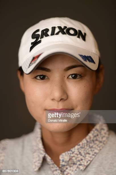 Sakura Yokomine of Japan poses for a portrait at the Park Hyatt Aviara Resort on March 22 2017 in Carlsbad California