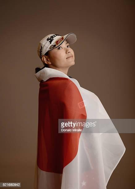 Sakura Yokomine of Japan poses for a portrait during the KIA Classic at the Park Hyatt Aviara Resort on March 23 2016 in Carlsbad California