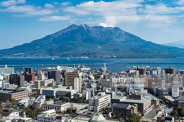 Sakurajima and Kagoshima city