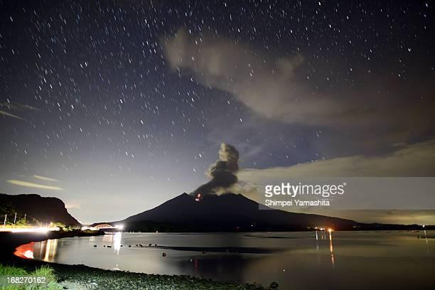 Sakurajima eruption of Starlight