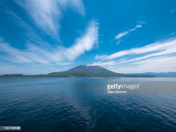 sakurajima island. japan - 鹿児島県 ストックフォトと画像