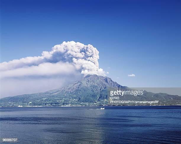 Sakurajima volcano, Kagoshima Prefecture, Japan