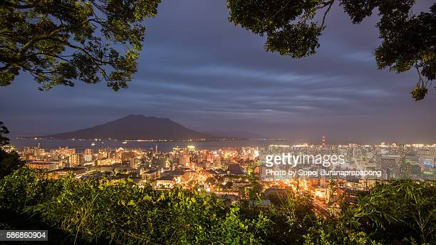 sakurajima volcano - 鹿児島県 ストックフォトと画像