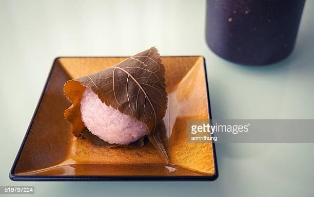 Sakuramochi (Japanese Sweets)