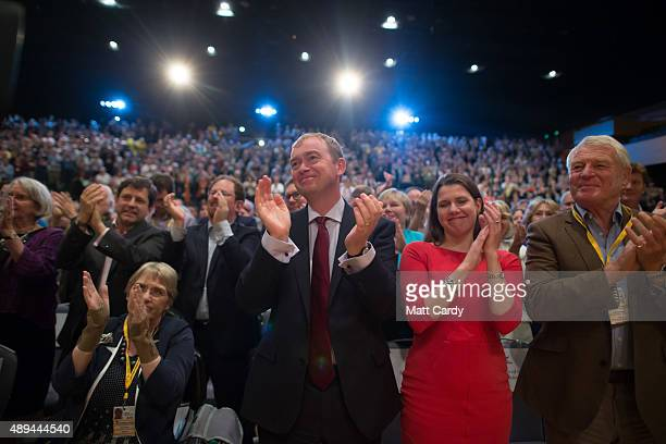 Sal Brinton President of the Liberal Democrats leader of the Liberal Democrats Tim Farron former minister Jo Swinson former party leader Paddy...