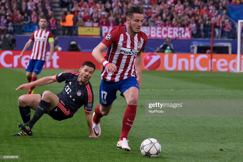 Club Atletico de Madrid v FC Bayern Muenchen - UEFA Champions League Semi Final: First Leg : News Photo