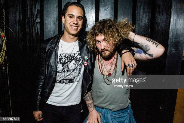 Sal Ramazzini and Sasha Chemerov attend The Gitas album release show for Beverly Kills at Red Gate Recorders on February 16 2017 in Los Angeles...