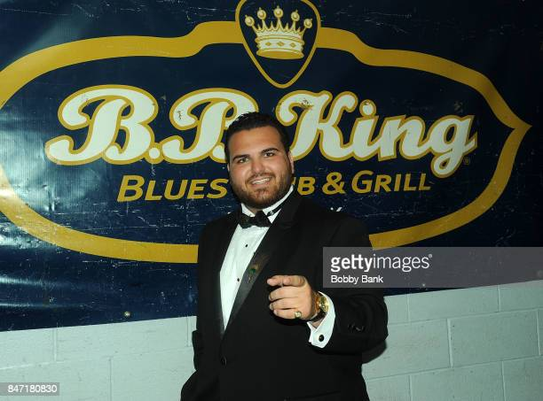 Sal Valentinetti backstage at BB King Blues Club Grill on September 14 2017 in New York City