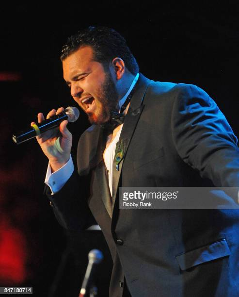 Sal Valentinetti performs at BB King Blues Club Grill on September 14 2017 in New York City