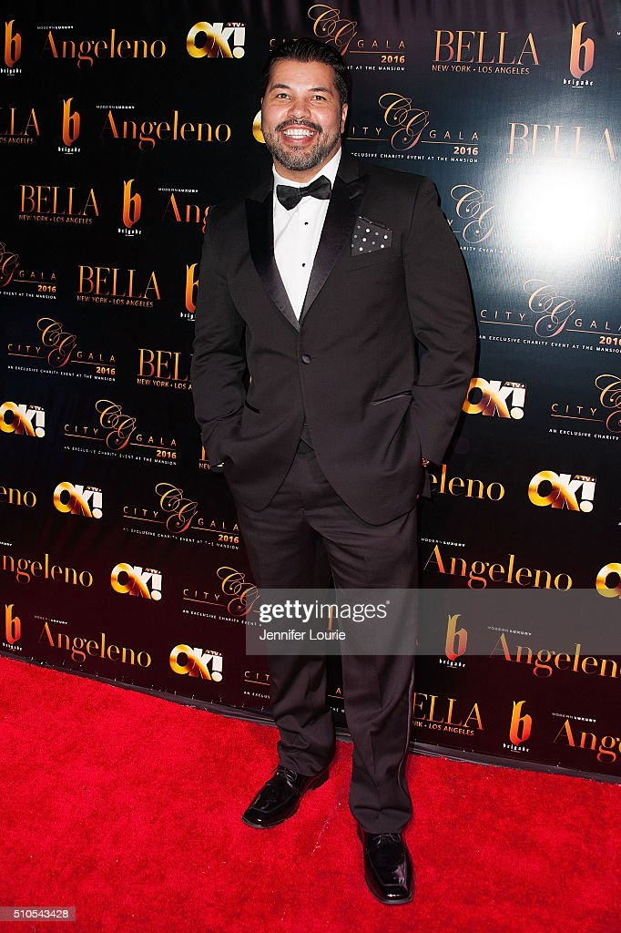 Sal Velez Jr. arrives at the 2016 City Gala Fundraiser at The Playboy Mansion on February 15, 2016 in Los Angeles, California.
