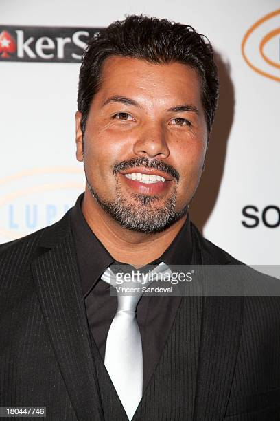 Sal Velez Jr attends Get Lucky For Lupus LA at Peterson Automotive Museum on September 12 2013 in Los Angeles California