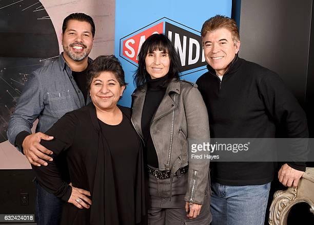 Sal Velez Jr Yareli Arizmendi Laura Patalano and Art Bonilla attends SAGindie Actors Only Brunch on January 22 2017 in Park City Utah