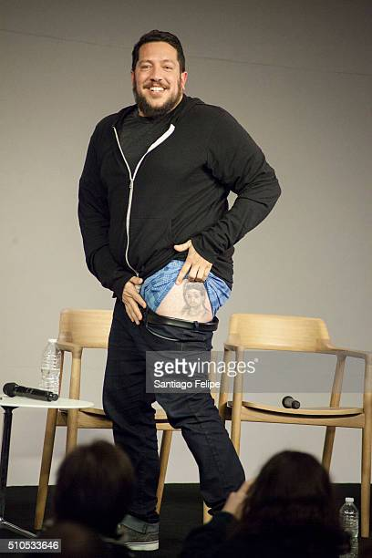 Sal Vulcano attends Apple Store Soho Presents Meet The Impractical Jokers at Apple Store Soho on February 15 2016 in New York City