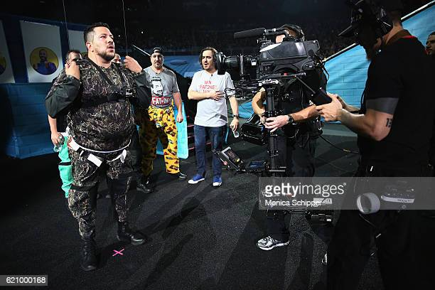 Sal Vulcano attends the Impractical Jokers Live Nitro Circus Spectacular at Prudential Center on November 3 2016 in Newark New Jersey...