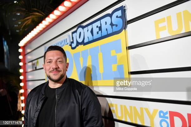 Sal Vulcano attends the Impractical Jokers The Movie Premiere Screening and Party on February 18 2020 in New York City 739100