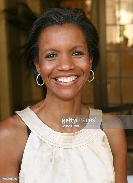 Salaam Coleman Smith attends a reception celebrating the release of Shaun Robinson's book Exactly As I Am at a private residence on April 18 2009 in...