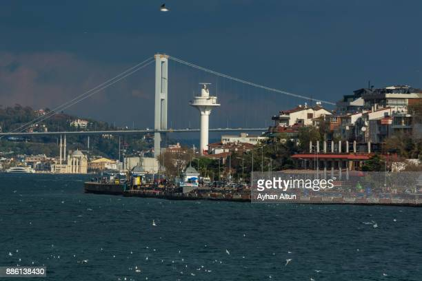 Salacak Waterfront in Uskudar,Asian side of Istanbul,Turkey