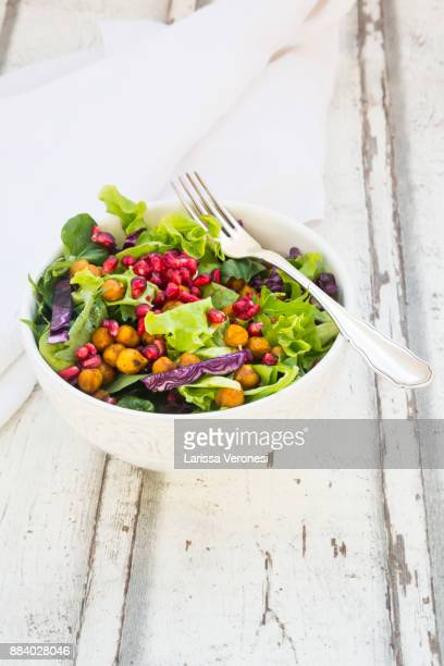 salad bowl - green salad stock pictures, royalty-free photos & images
