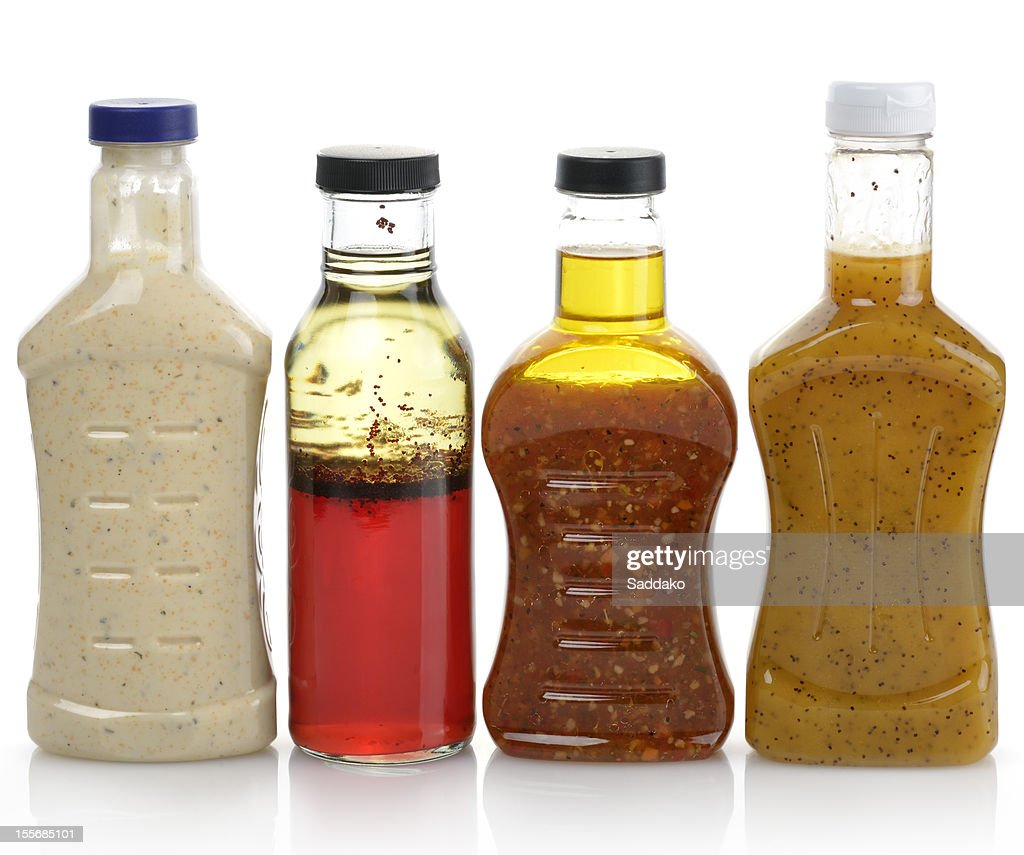 Salad Dressings : Stock Photo