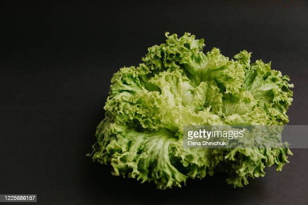 salad isolated on black background.food supplies crisis food stock for quarantine.food delivery, donation, coronavirus.tape measure. - odessa crisis stock pictures, royalty-free photos & images