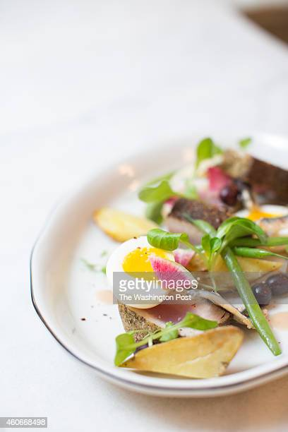 salad nicoise stock photos and pictures getty images. Black Bedroom Furniture Sets. Home Design Ideas