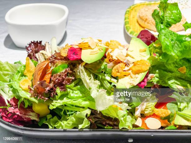 salad - liyao xie stock pictures, royalty-free photos & images