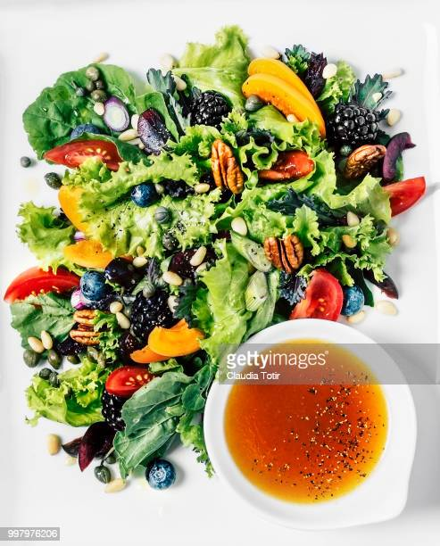 salad - salad dressing stock pictures, royalty-free photos & images