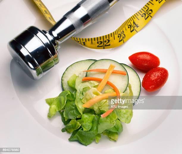 salad tape weight