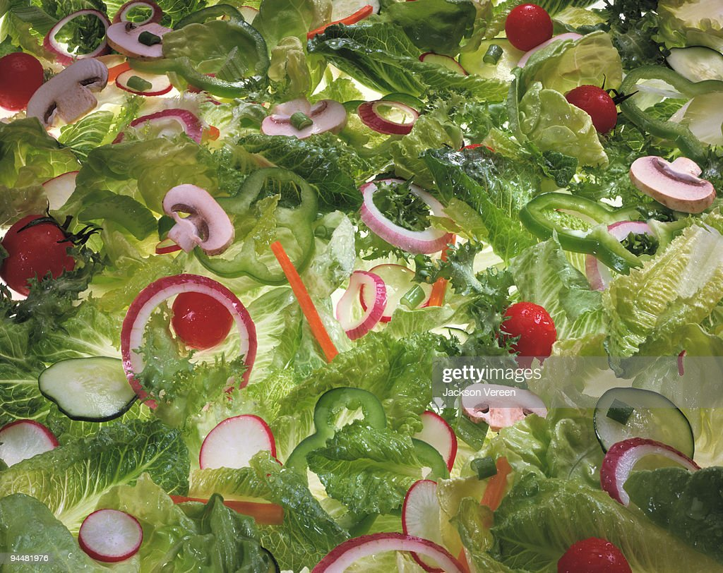 Salad with vegetables : Stock Photo