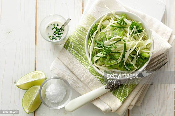 Salads: Coleslaw Still Life
