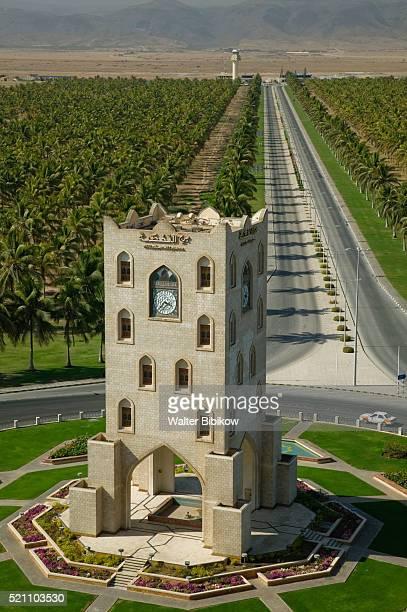 Salalah Clock Tower in Traffic Circle