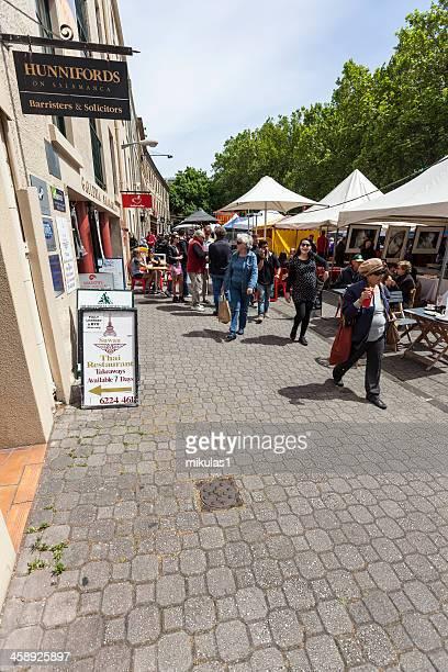 サラマンカ市場 - タスマニア州 ホバート ストックフォトと画像
