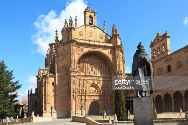 salamanca - st. stephen convent - salamanca stock pictures, royalty-free photos & images