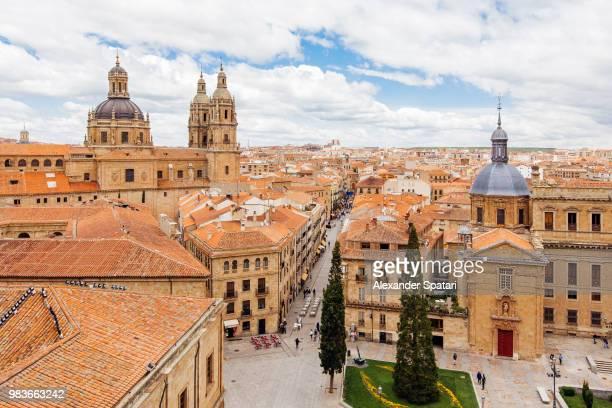 Salamanca townscape seen from above, Spain