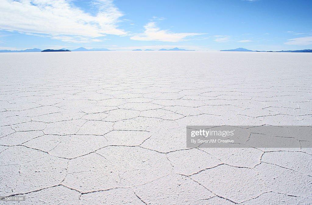 Salar de Uyuni (salt flats), Bolivia : Foto de stock