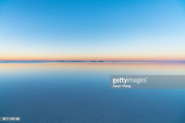 salar de uyuni - reflection lake stock photos and pictures