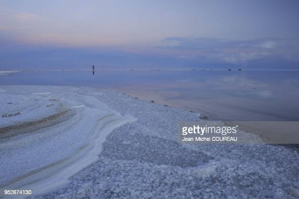Salar of Uyuni or of Tunupa is the world's largest salt lake it is elevated 3656 meters above the mean sea level