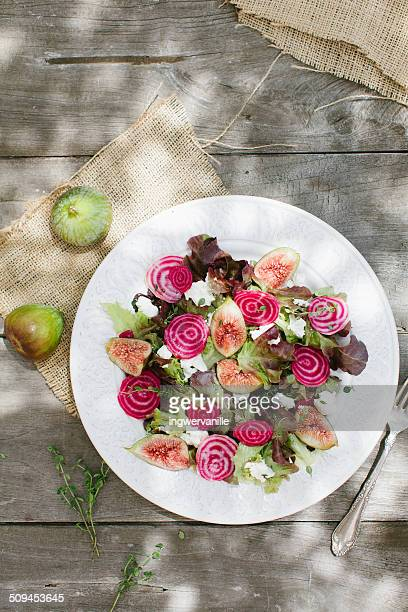 Salat with figs