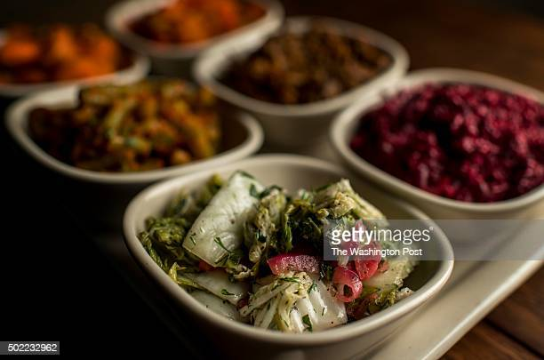 JULY 14 Salatim is served with dinner Moroccan carrots Bulgarian red pepper salad twice cooked eggplant roasted beets with tehina Napa cabbage salad...