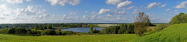 Saldus towns panoramic