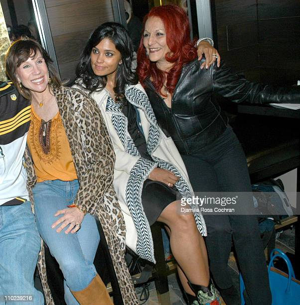 Sale Johnson Rachel Roy and Patricia Field during Patricia Field for the House of Rocawear Lounge at Ono at the Hotel Gansevort in New York City New...