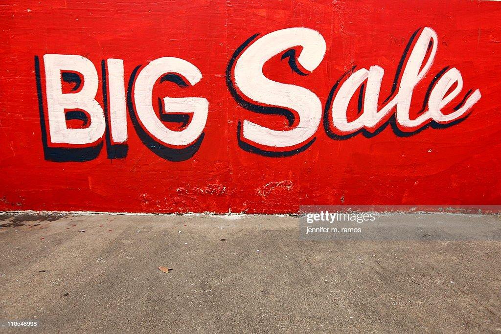 BIG sale : Stock Photo