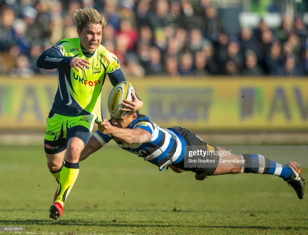 Bath Rugby v Sale Sharks - Aviva Premiership