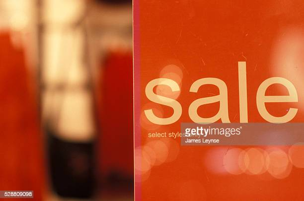 Sale sign at Wet Seal clothing store advertising their 'back to school sale' at the Garden State Plaza Mall in Paramus New Jersey