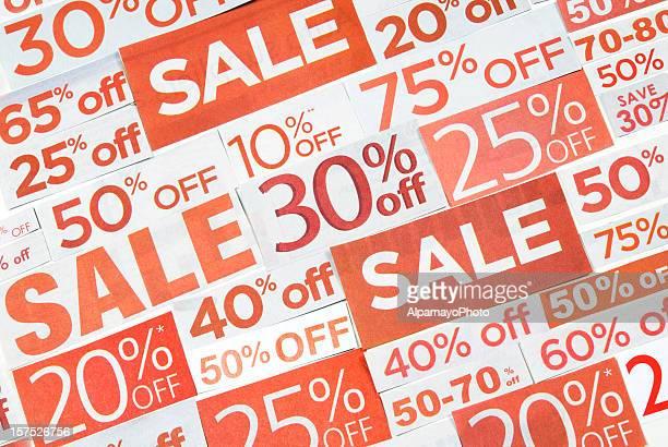 Sinais de venda, jornais e monofolhas clippings-XIII