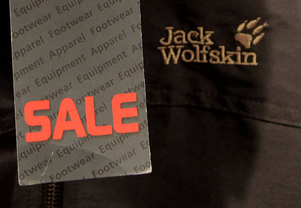 online retailer b8e13 f469e Jack Wolfskin Products In A Shop As Company Considering Sale ...
