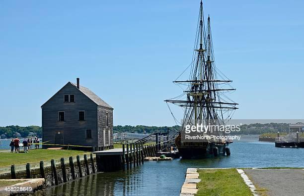 lieu historique national maritime de salem - massachusetts photos et images de collection