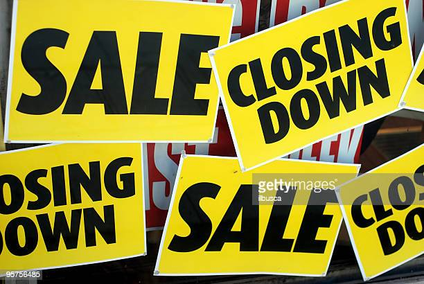 sales, closing down - business closing stock photos and pictures