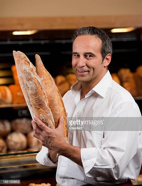 Sales executives pain Boulangerie vendant de